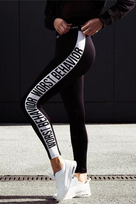 Fashion Printed Sports Pants 32802
